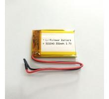 Аккумулятор 503040 550mAh 3.7V