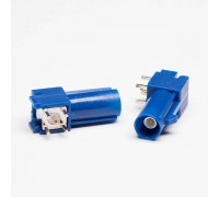 разъем FAKRA C male Plug PCB mount RA(на плату)