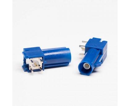 Fakra разъем C male Plug PCB mount RA(на плату)