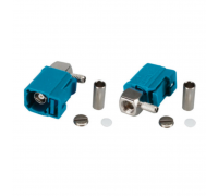 Разъем fakra угловой Z на кабель RG316/RG174