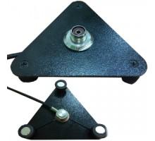 Треугольное магнитное основание(кронштейн) для антенны MOUNT AXXI-1 PL