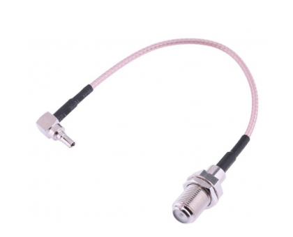 Коаксиальный радиочастотный пигтейл F-female -  CRC9