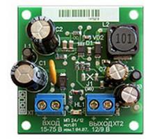 Модуль преобразователя напряжения для питания удаленных нагрузок МП 24/12 В исп.01