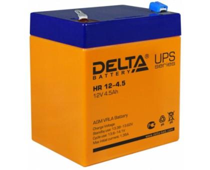 Аккумулятор 12В 4,5  А/ч Delta HR 1245