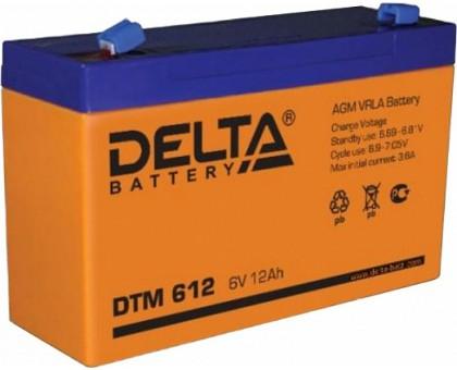 Аккумулятор 6В 12 А/ч Delta DTM 612