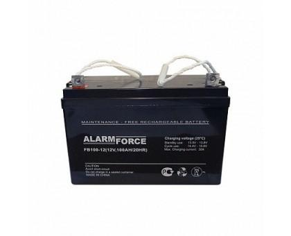 Аккумулятор 12В 100 А/ч FB Alarm Force