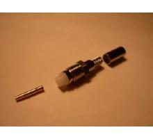 разъем FME female обжимной rg8x micro(rg59)