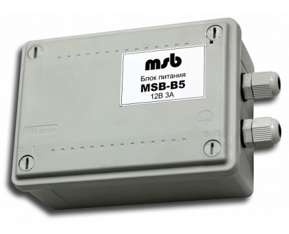 MSB-B5  Блок питания уличный 12В/3А