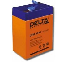 Аккумулятор 6В 4,5 А/ч Delta DTM 6045
