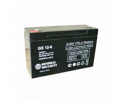 Аккумулятор 6В 12А/ч GS KL General Security