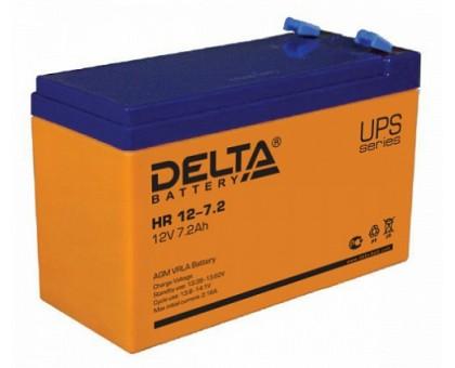 Аккумулятор 12В 7,2 А/ч Delta HR 12-7,2