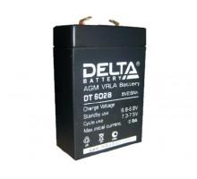 Аккумулятор 6В 2,8 А/ч Delta DT 6028