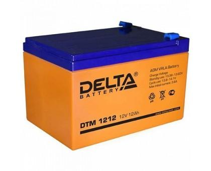 Аккумулятор 12В 12 А/ч Delta DTM 1212