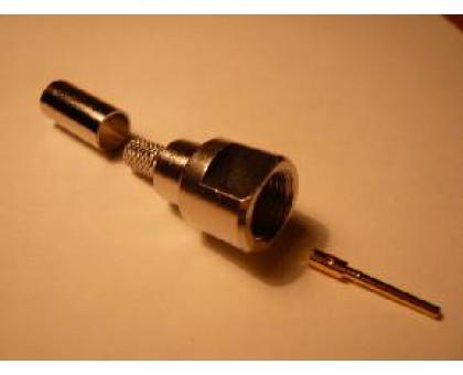 разъем FME male обжимной rg8x micro(rg59)
