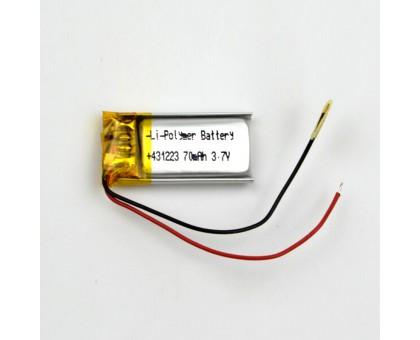 Аккумулятор 431223 Li-Pol 70mAh 3.7V