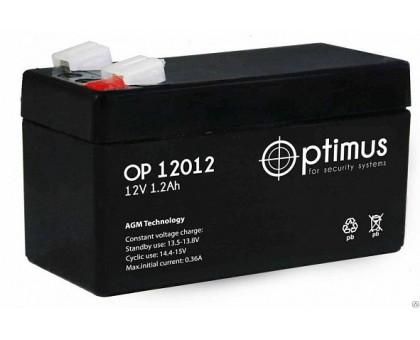 Аккумулятор 12В 1,2 А/ч Optimus 12012
