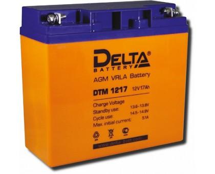 Аккумулятор 12В 17 А/ч Delta DTM 1217