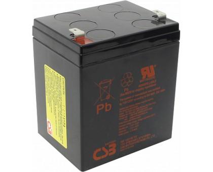 Аккумулятор 12В 5 А/ч HR 1221 W F2 CSB