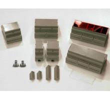 D4MG - пластиковый корпус на ДИН рейку Gainta