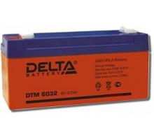 Аккумулятор 6В 3,2 А/ч Delta DTM 6032