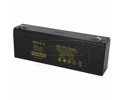 Аккумулятор 12В 2,3 А/ч GSL General Security