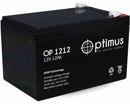 Аккумулятор 12В 12 А/ч Optimus 12-12