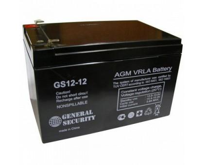 Аккумулятор 12В 12 А/ч GS General Security