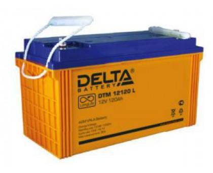 Аккумулятор 12В 120 А/ч Delta DTM 12120 L