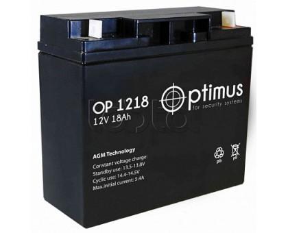 Аккумулятор 12В 18 А/ч Optimus 12-18
