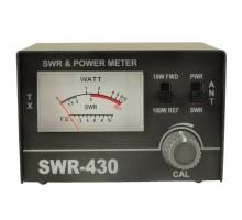 ксв метр 27мгц -  OPTIM SWR-430 (с измерителем мощности)