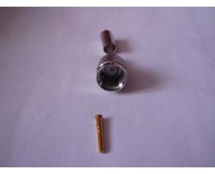 разъем miniUHF male обжимной rg58