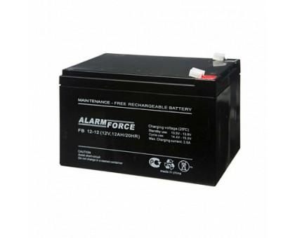 Аккумулятор 12В 12 А/ч FB  Alarm Force