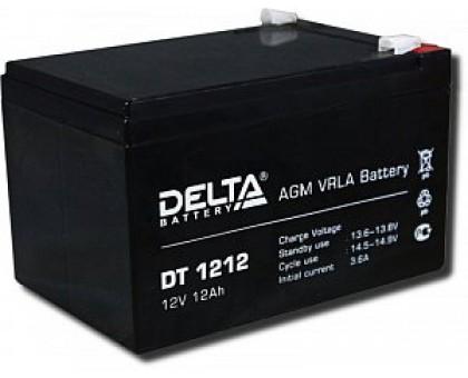 Аккумулятор 12В 12 А/ч Delta DT 1212