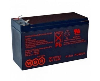 Аккумулятор 12В 7,2 А/ч GP 1272 F2 (28W) WBR