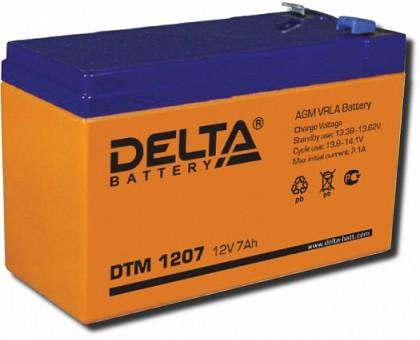 Аккумулятор 12В 2,2 А/ч Delta DTM 12022