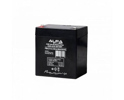 Аккумулятор 12В 4,5 А/ч ALFA FB