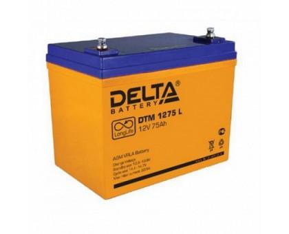 Аккумулятор 12В 75 А/ч Delta DTM 1275 L