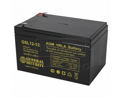 Аккумулятор 12В 12А/ч GSL 12-12 General Security