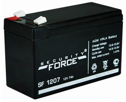 Аккумулятор 12В 7 А/ч SF 1207 Security Force