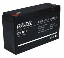 Аккумулятор 6В 12А/ч Delta DT 612