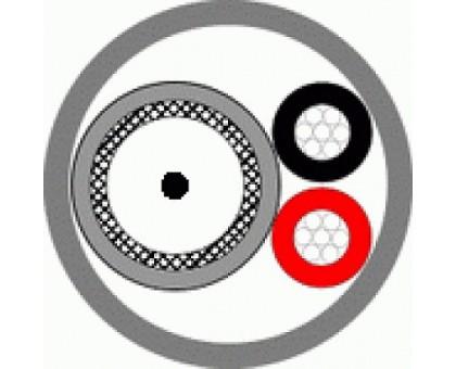Кабель КВК-П-3ф 2х0,5 (черный)