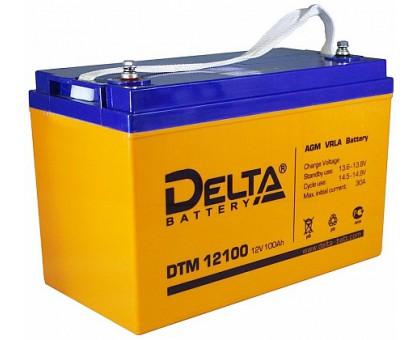 Аккумулятор 12В 100 А/ч Delta DTM 12100 L