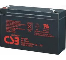 Аккумулятор 6В 12 А/ч GP 6120 CSB