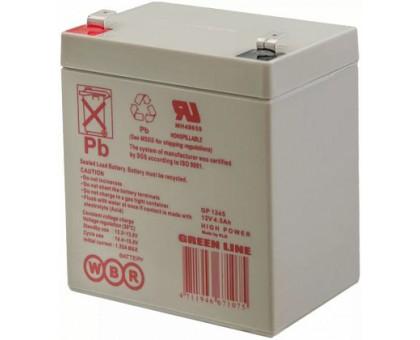 Аккумулятор 12В 4,5 А/ч GP 1245 WBR