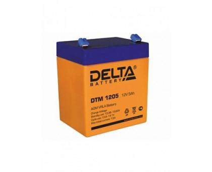 Аккумулятор 12В 5 А/ч Delta DTM 1205