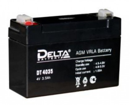 Аккумулятор 4В 3,5 А/ч Delta DT 4035