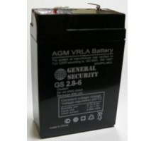 Аккумулятор 6В 2,8 А/ч GS General Security