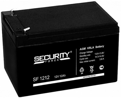 Аккумулятор 12В 12 А/ч Security Force
