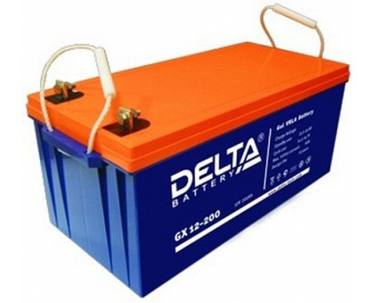 Аккумулятор 12В 200 А/ч Delta GX 12-200