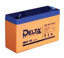 Аккумулятор 6В 12 А/ч Delta HR 6-12